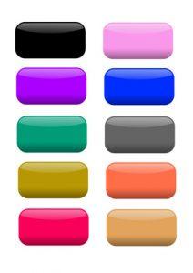 napisy na sciane rózne kolory