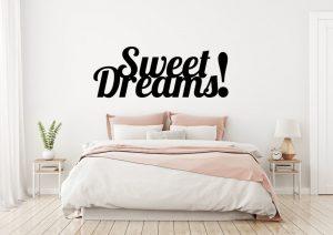 Sweet Dream napisy 3D na scianę