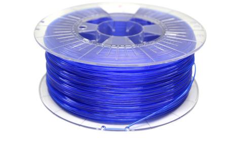Filament PETG 1.75mm TRANSPARENT BLUE 1kg