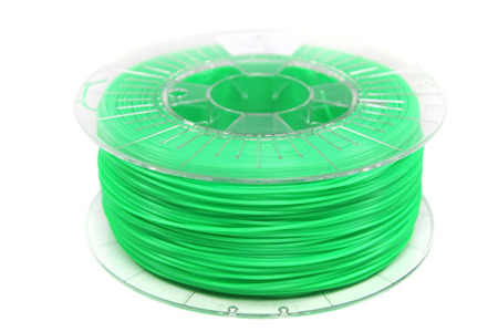 Filament PLA 1.75mm FLUORESCENT GREEN 1kg