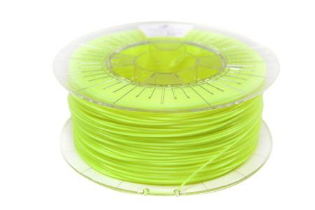Filament PLA 1.75mm FLUORESCENT YELLOW 1kg